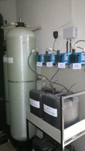 Обессоливание артезианской воды для загородного дома, Utech 418