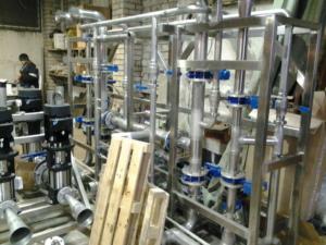 Водоподготовка для масло-экстракционного завода, очистка воды Utech 418, союз технологий для воды