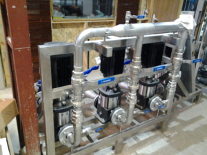 Водоподготовка для масло-экстракционного завода, оборудование для очистки воды Utech 418, союз технологий для воды