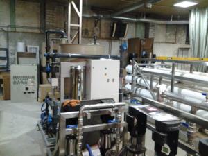 оборудование для очистки воды Utech 418, союз технологий для воды