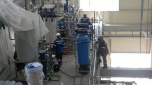 Очистка воды на предприятии Днепр, Киев, Запорожье, Харьков, Львов, Одесса, цена, недорого