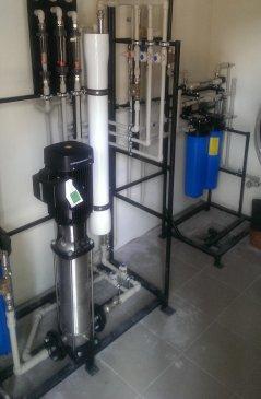 Обессоливание засоленной артезианской воды для загородного дома, Utech 418