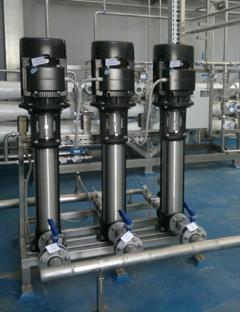 Комплектующие и расходные материалы для водоподготовки Днепр