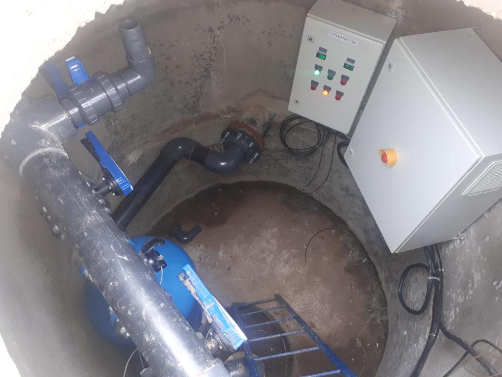 Організація водопостачання олійноекстракційного заводу. ЮТЕХ418