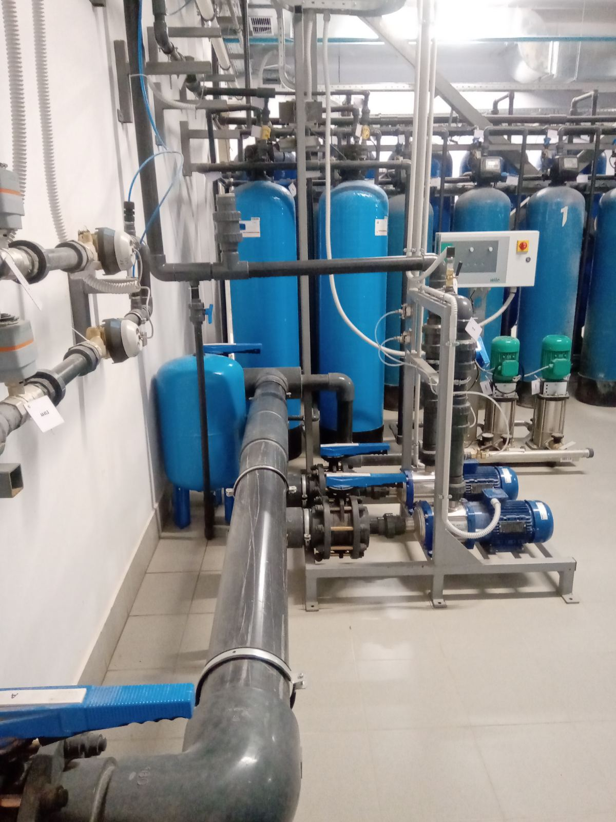 Монтаж системи водопідготовки для потреб заводу ЮТЕХ418