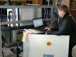 Тестирование оборудования на производстве ООО «ЮТЕХ418»